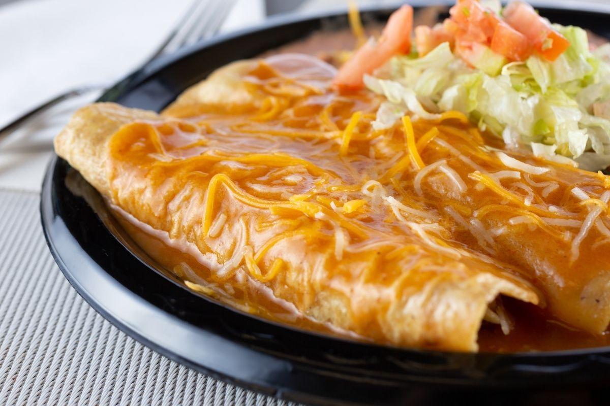 Reheat Enchiladas using Microwave